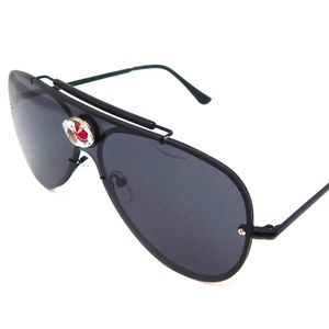 PANTHER POWER RED EYE AVIATOR GLASSES NEW